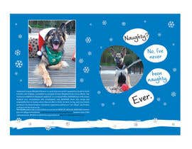 #16 untuk Design a 5x7 Christmas Card for Southeast German Shepherd Rescue oleh primavaradin07