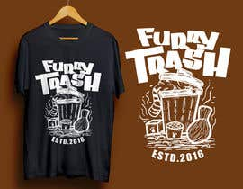 #28 for Design a T-Shirt called Furry Trash by faridhnug