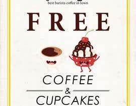 Nro 13 kilpailuun Free Coffee and Cupcakes! käyttäjältä olibyeah