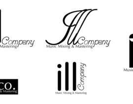 #30 para Design a Logo for ILL COMPANY/ILL CO. Music Mixing & Mastering por cybermaxdesign