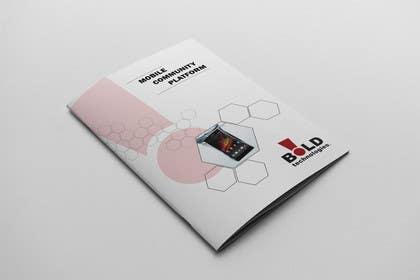 #18 for Design a Brochure for BOLD! Mobile Community Platform by Olywebart