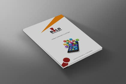 #3 for Design a Brochure for BOLD! Mobile Community Platform by xtreemsteel