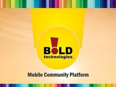 #26 for Design a Brochure for BOLD! Mobile Community Platform by linokvarghese