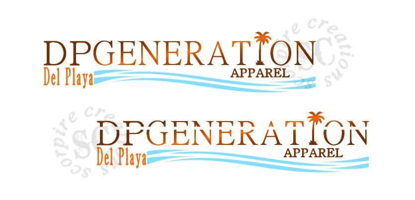 Contest Entry #28 for DPGENERATION APPAREL LOGO
