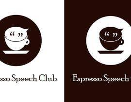 "Lalit89750 tarafından Logo for a speaking club named ""Espresso Speech Club"" için no 13"