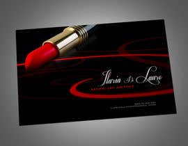 #236 for Business Card Design for Ilaria Di Lauro - Make-up artist by Zveki