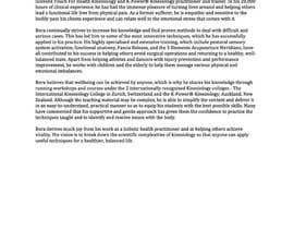Nro 13 kilpailuun Short Professional Bio and an effective marketing letter to attract sponsors. käyttäjältä PamChng