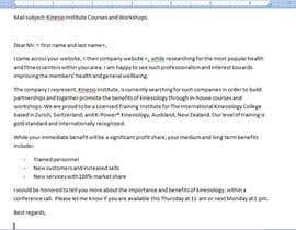 Nro 10 kilpailuun Short Professional Bio and an effective marketing letter to attract sponsors. käyttäjältä andracarbunaru