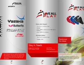 #13 for Design a Brochure for a sports company by anusachu