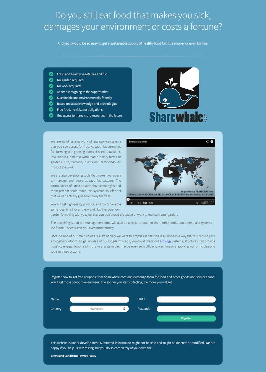 Bài tham dự cuộc thi #3 cho Design CSS for single page HTML file