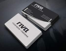 Nro 22 kilpailuun Design a restaurant business card käyttäjältä Kamrunnaher20