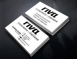 Nro 3 kilpailuun Design a restaurant business card käyttäjältä sanjoypl15