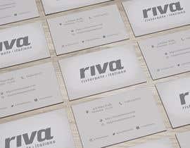 Nro 9 kilpailuun Design a restaurant business card käyttäjältä medarde