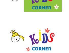 rcoco tarafından Develop a Logo for Kids Clothing Shop ( Kids Corner ) için no 94