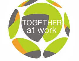 nº 8 pour Ontwerp logo voor Together@Work par elenaferre