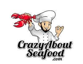 jaywdesign tarafından logo for my   CrazyAboutSeafood.com için no 8