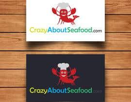 BatJazzStudio tarafından logo for my   CrazyAboutSeafood.com için no 24