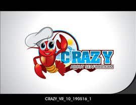 colorgraphicz tarafından logo for my   CrazyAboutSeafood.com için no 20