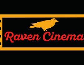 Nro 18 kilpailuun Ravencinema Logo Design käyttäjältä GabrielSantosV