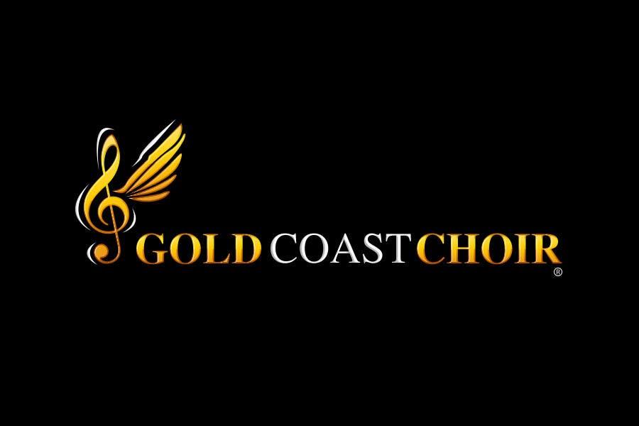 Kilpailutyö #374 kilpailussa Logo Design for Gold Coast Choir