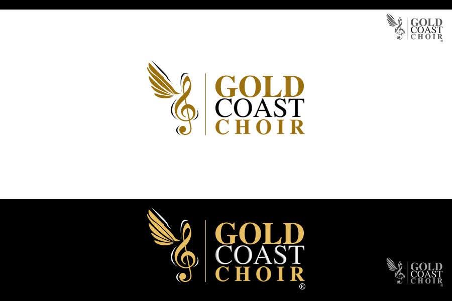 Kilpailutyö #425 kilpailussa Logo Design for Gold Coast Choir