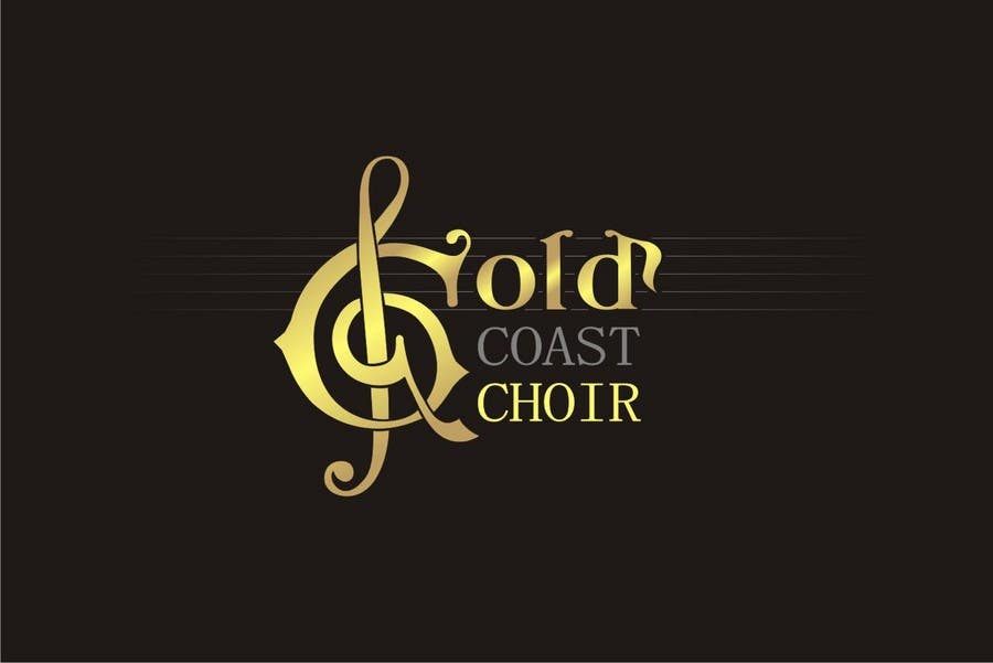 Kilpailutyö #339 kilpailussa Logo Design for Gold Coast Choir