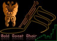 Graphic Design Kilpailutyö #367 kilpailuun Logo Design for Gold Coast Choir