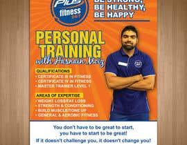 Nro 8 kilpailuun A4 poster - personal trainer profile käyttäjältä teAmGrafic