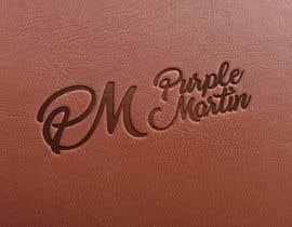 "MarvinWanzuita tarafından Design a logo for a leather brand ""Purple Martin"" için no 34"
