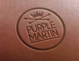 "PowerDsign tarafından Design a logo for a leather brand ""Purple Martin"" için no 45"