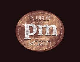 "STPL2013 tarafından Design a logo for a leather brand ""Purple Martin"" için no 30"