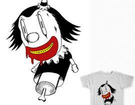 #13 para Design a t-shirt with a clown illustration - cartoon por maximo20858