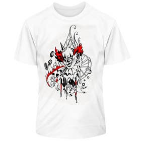 #11 for Design a t-shirt with a clown illustration - cartoon by lausta