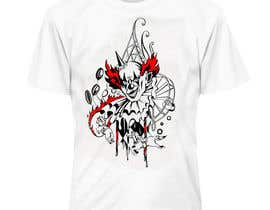#11 cho Design a t-shirt with a clown illustration - cartoon bởi lausta