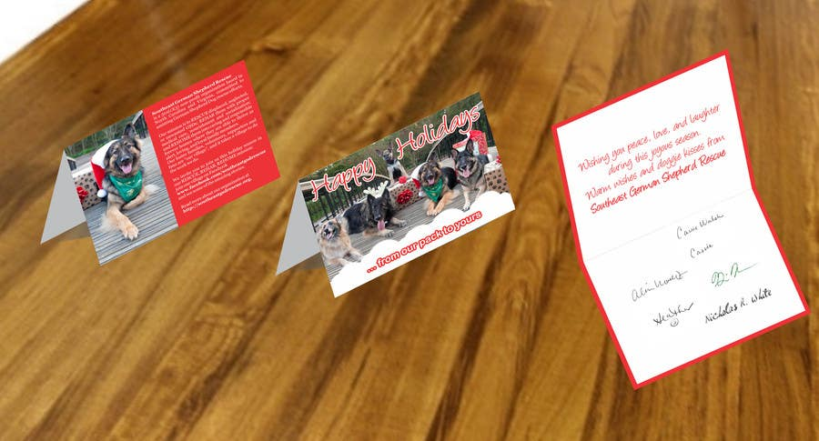 Contest Entry #2 for Design a 5x7 Christmas Card for SGSR