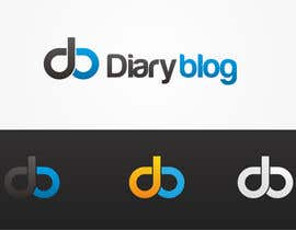 #38 for Design a Logo for Diaryblog by budisjati