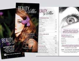 Nro 33 kilpailuun Design a Flyer for beauty services for women käyttäjältä DaveWL