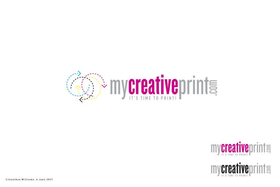 Konkurransebidrag #12 i Logo Design for mycreativeprint.com