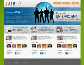 nº 30 pour Website Design for Trin-iT Software Solutions par dreamsweb