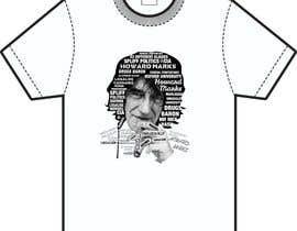 Nro 21 kilpailuun Illustrate Typography portrait for t-shirt käyttäjältä NavCZ