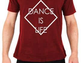 Nro 26 kilpailuun Design For Dance T-shirt & Tank-Top käyttäjältä JoelCustodio