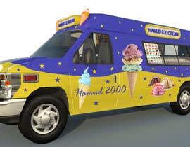 Nro 19 kilpailuun Ice cream van design käyttäjältä pramoteyula