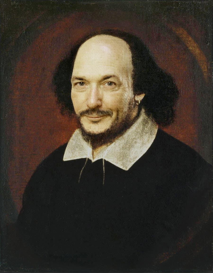 Penyertaan Peraduan #                                        14                                      untuk                                         Make my boss look like William Shakespeare