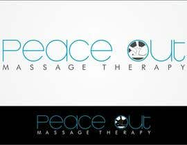 "airbrusheskid tarafından Design a Logo for my company ""Peace Out"" massage therapy. için no 146"