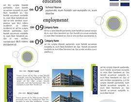 Nro 19 kilpailuun Graphic Design for Resume Template käyttäjältä jhosser