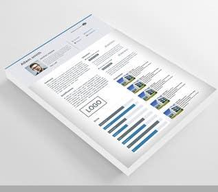 s86669 tarafından Graphic Design for Resume Template için no 22