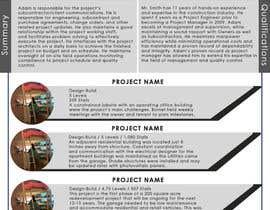 Nro 4 kilpailuun Graphic Design for Resume Template käyttäjältä olibyeah