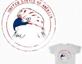 #7 cho Patriotic t-shirt USA theme design bởi maximo20858