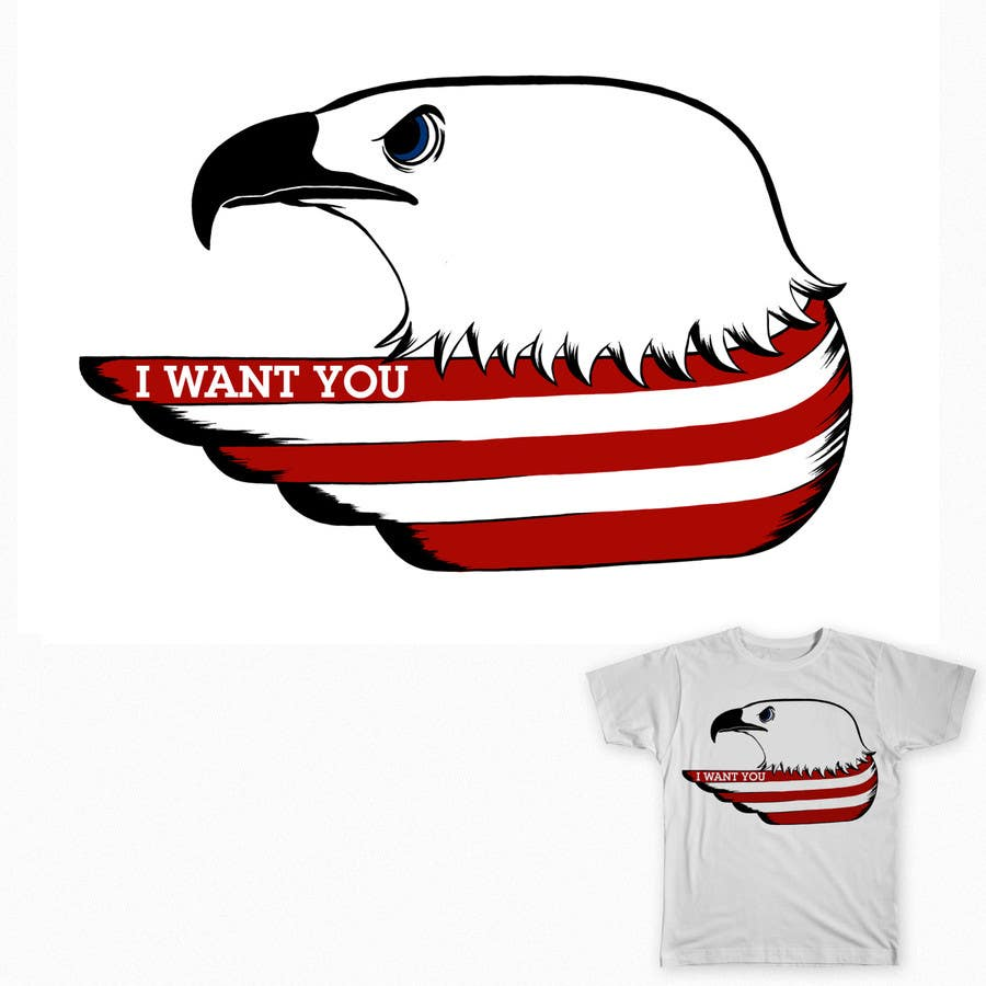 #12 for Patriotic t-shirt USA theme design by maximo20858