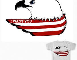 #12 cho Patriotic t-shirt USA theme design bởi maximo20858